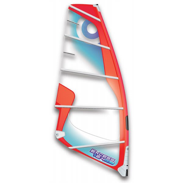 Neil Pryde Excess Windsurfing Sail 7 4 Red Grey U.S.A. & Canada
