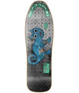 New Deal Templeton Cat Metallic Heritage Cruiser Skateboard Deck
