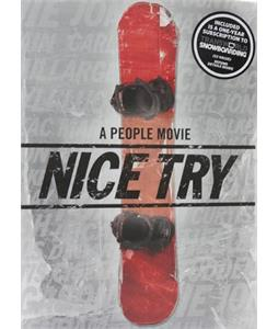 Nice Try (People) Snowboard DVD