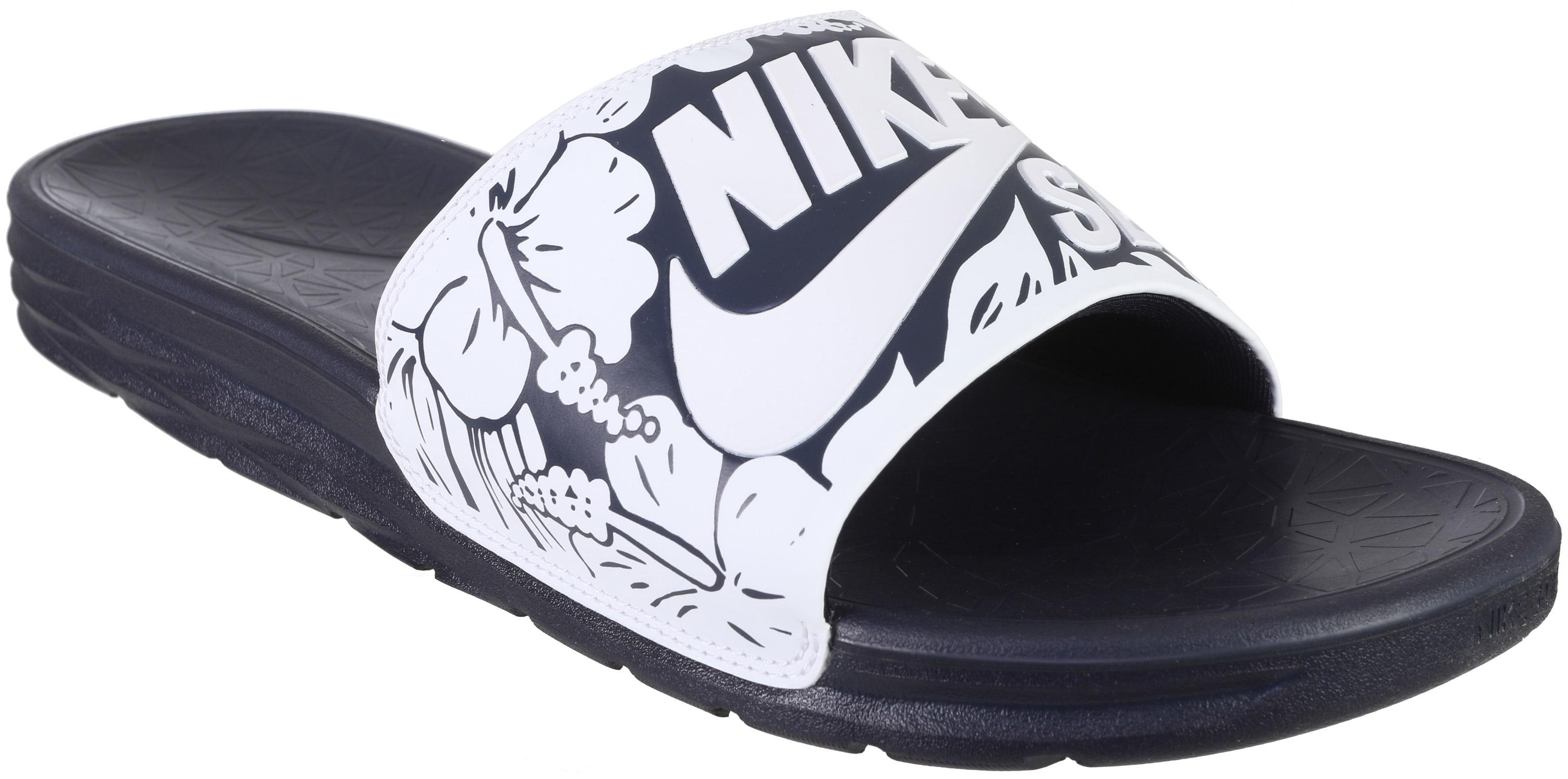 Nike Benassi Solarsoft SB Print Sandals - thumbnail 2 7301bc147504