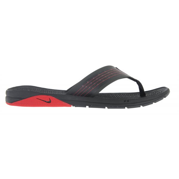 Nike Brobrah Sandals Black / Sport Red / Anthracite U.S.A. & Canada
