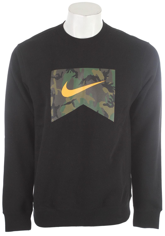 prosa fascismo exterior  Nike Foundation Camo Fill Crew Sweatshirt