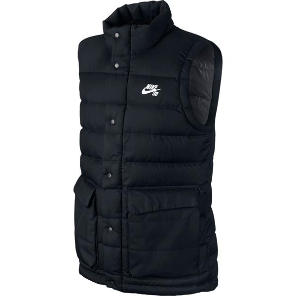Mens Nike Sb 550 Down Fill Black/Anthracite/Silver Vest