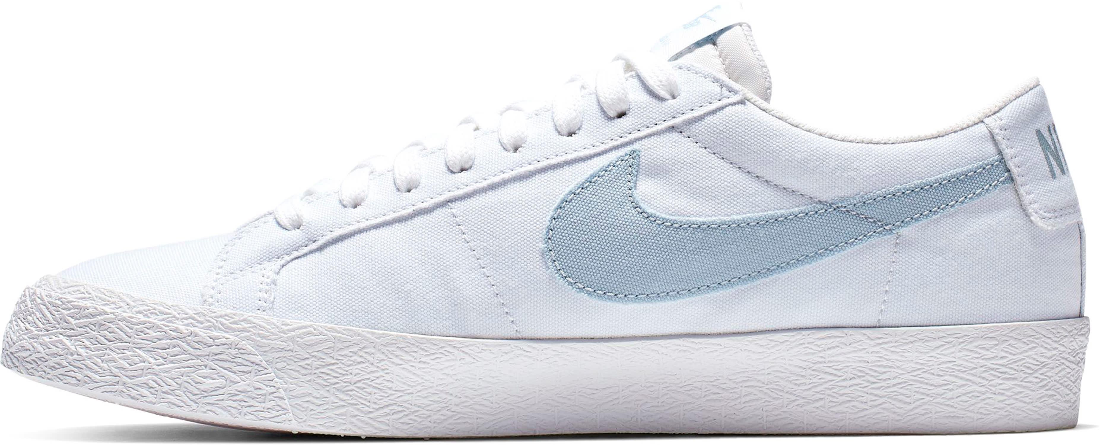 9067f97112982 Nike SB Air Zoom Blazer Low Canvas Skate Shoes - thumbnail 2