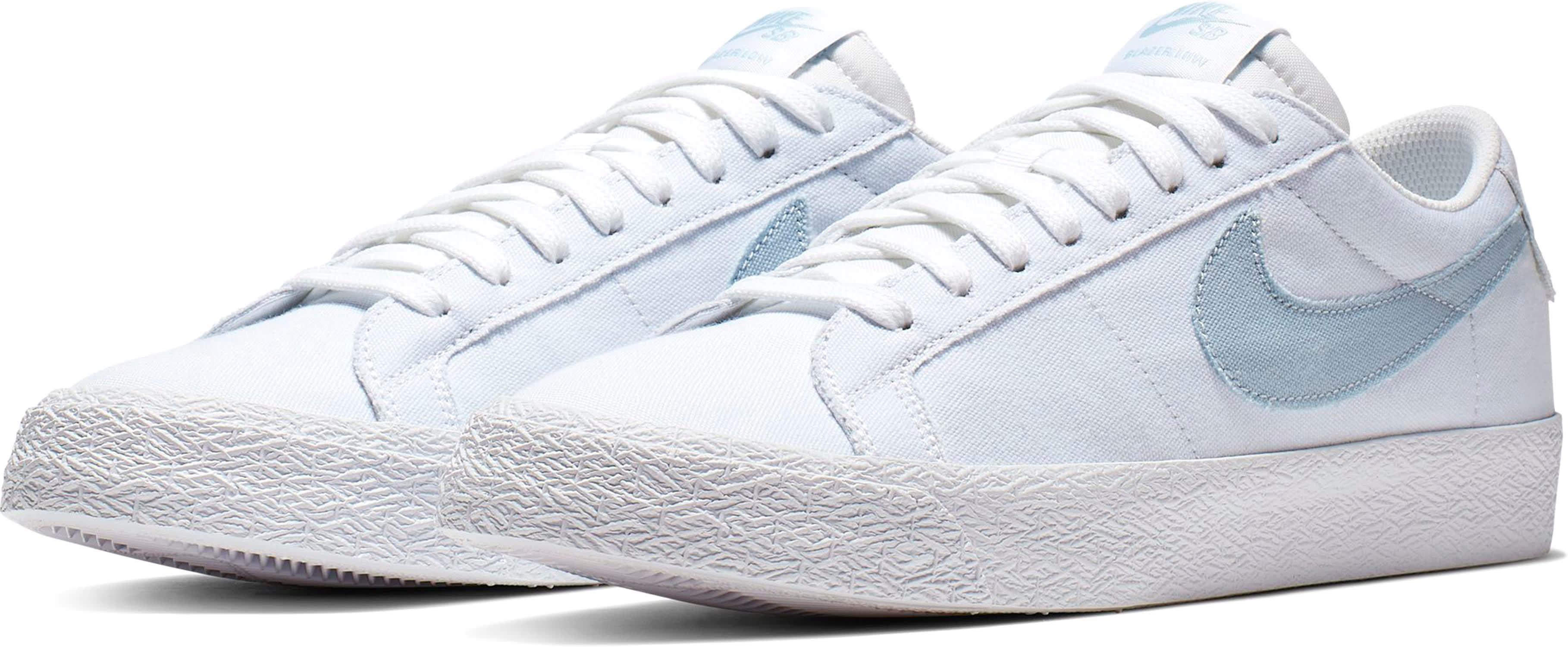 dc66842ee98c6 Nike SB Air Zoom Blazer Low Canvas Skate Shoes - thumbnail 3