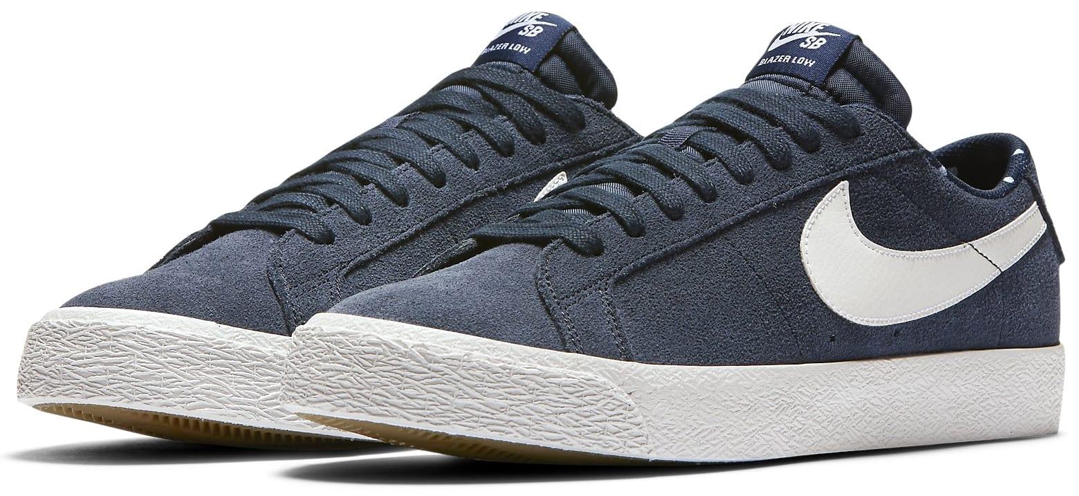 innovative design b33a7 6c33f Nike SB Nike SB Blazer Zoom Low Skate Shoes - thumbnail 3 ...