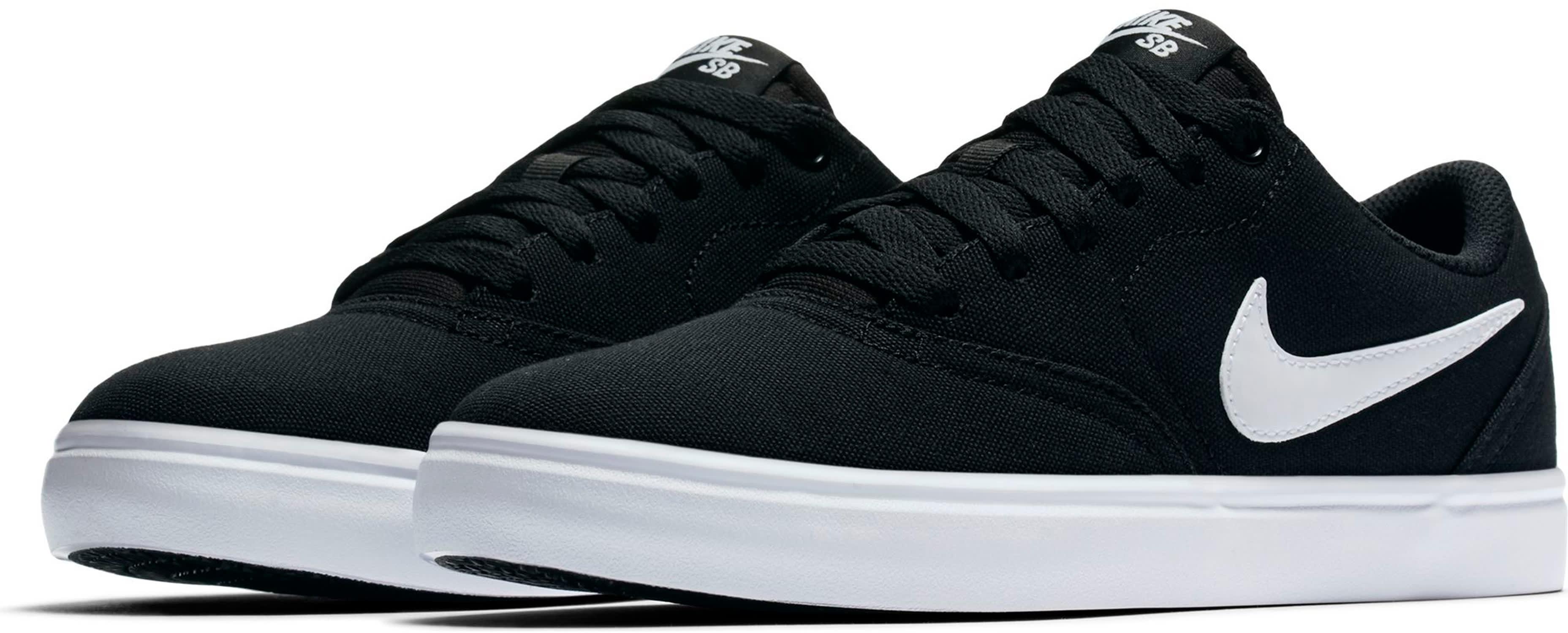 e6f0204af4 Nike SB Check Solarsoft Canvas Skate Shoes - thumbnail 3