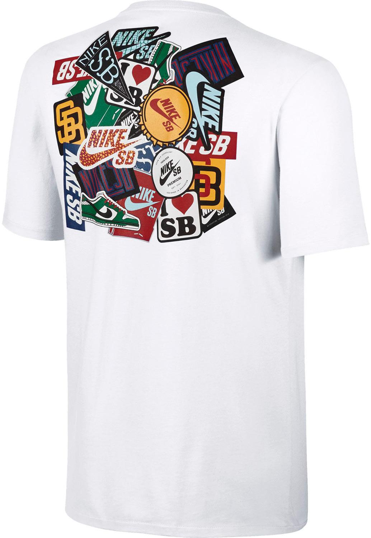 Outlet New Jersey >> Nike SB Dri-Fit Sticker T-Shirt