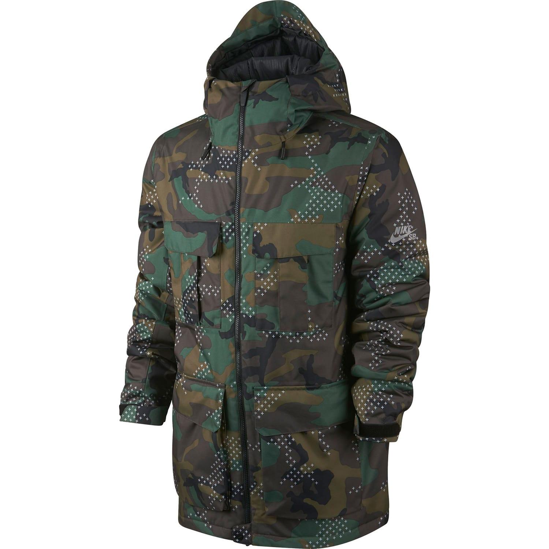 Camouflage jacke nike
