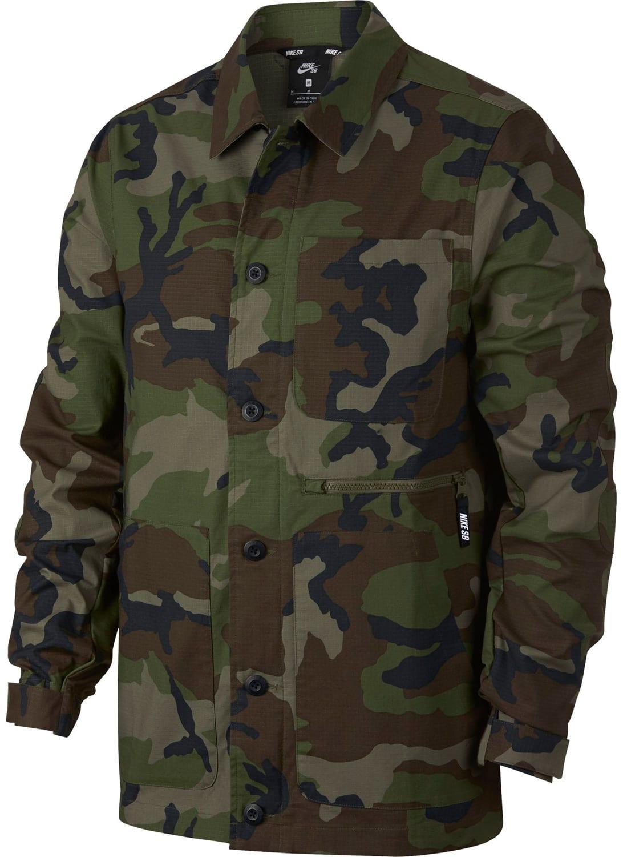 Nike Camouflage Jacke