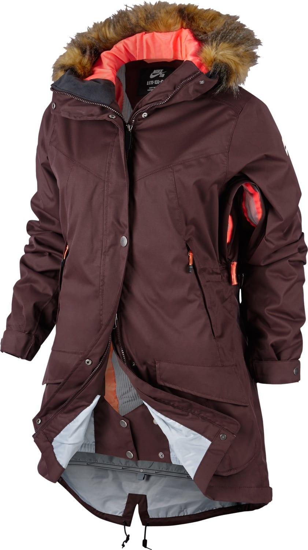 Nike Sb Hudson Parka Snowboard Jacket Womens