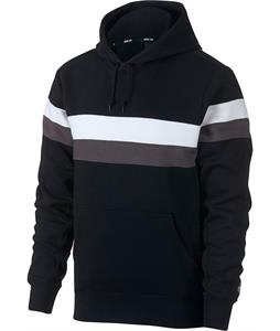 Nike SB Icon Striped Pullover Hoodie