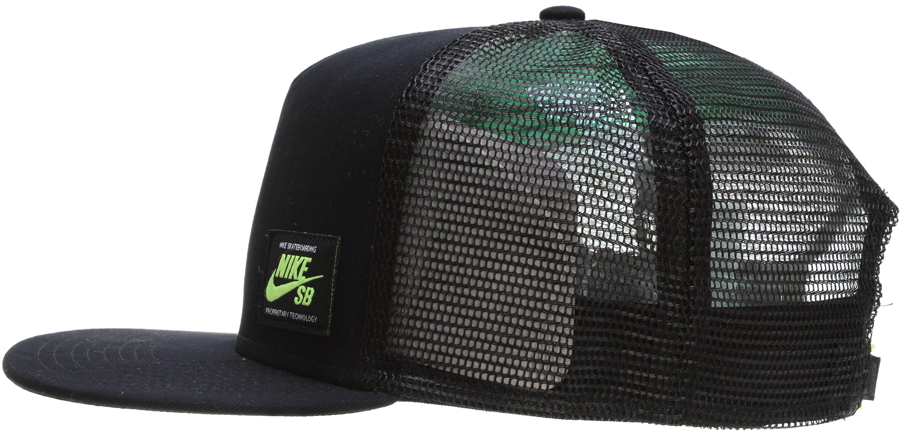 Nike Sb Verde Bloqueo Casquillo Del Camionero descuento barato venta auténtica precio barato comercializable sneakernews de salida kcwh2H