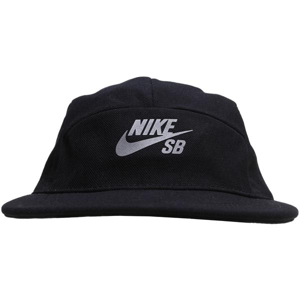 a55942ec3154 Loading zoom  Nike SB Performance 5-Panel Cap  Nike SB Performance 5 Panel (Black  Black Reflective Silver) ...