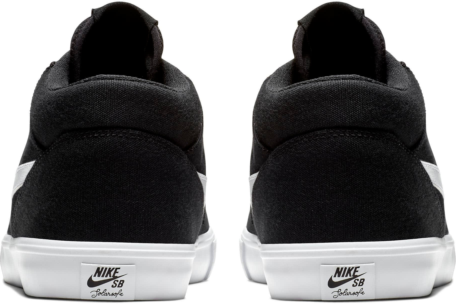 Nike Sb Portmore Ii Solarsoft Canvas Mid Skate Shoes 2019