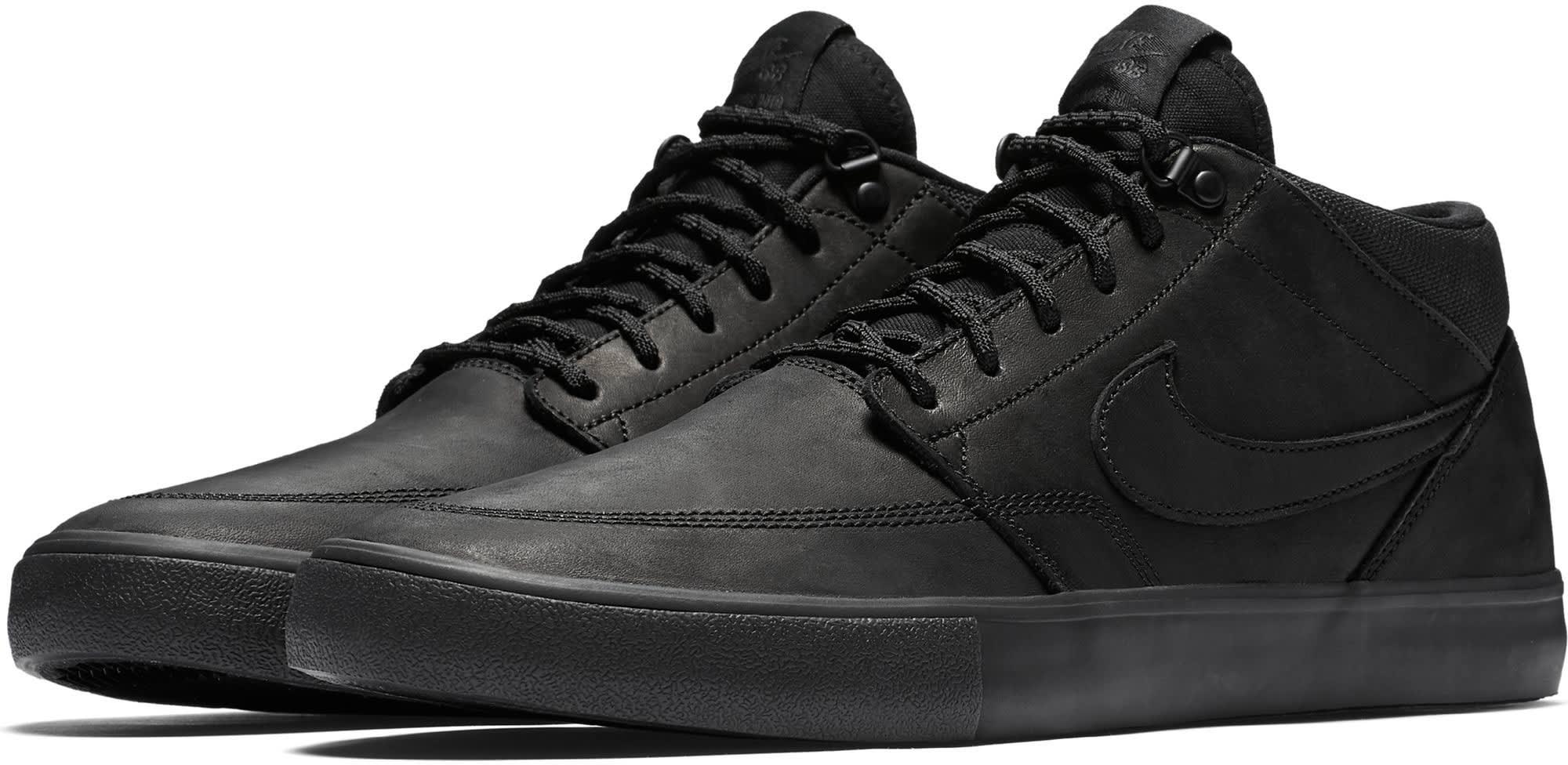 d5e420204286 Nike SB Portmore II Solarsoft Mid Premium Skate Shoes - thumbnail 3