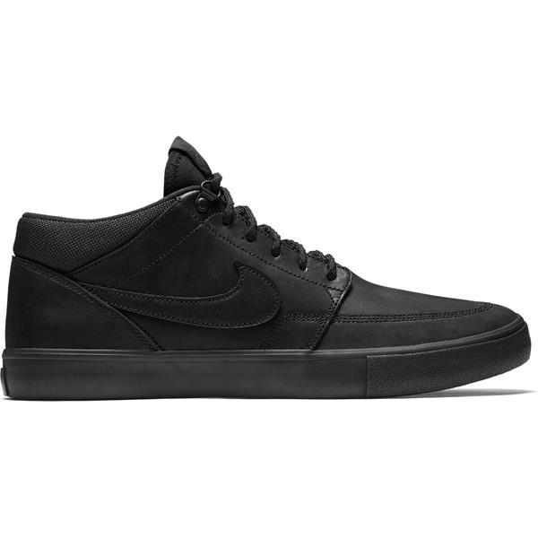 Nike SB Portmore II Solarsoft Mid Premium Skate Shoes
