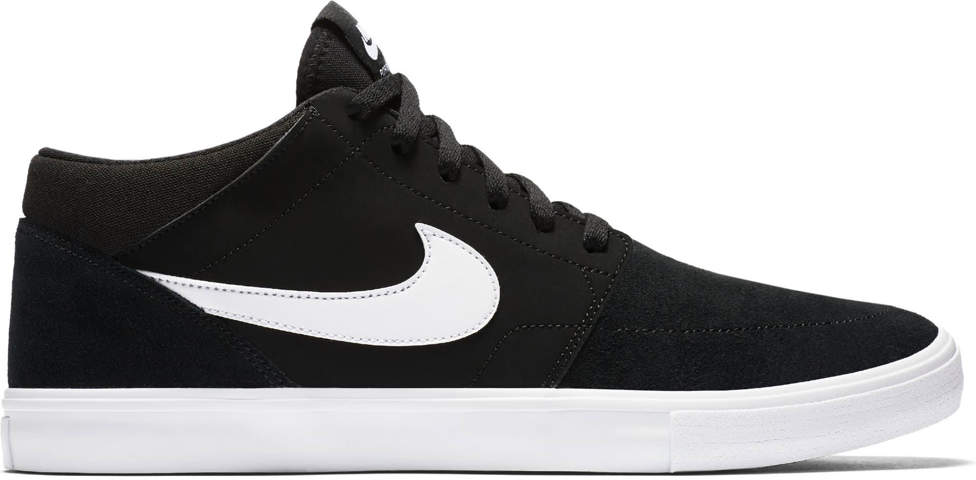 d58f65ff50eb Nike SB Portmore II Solarsoft Mid Skate Shoes 2018