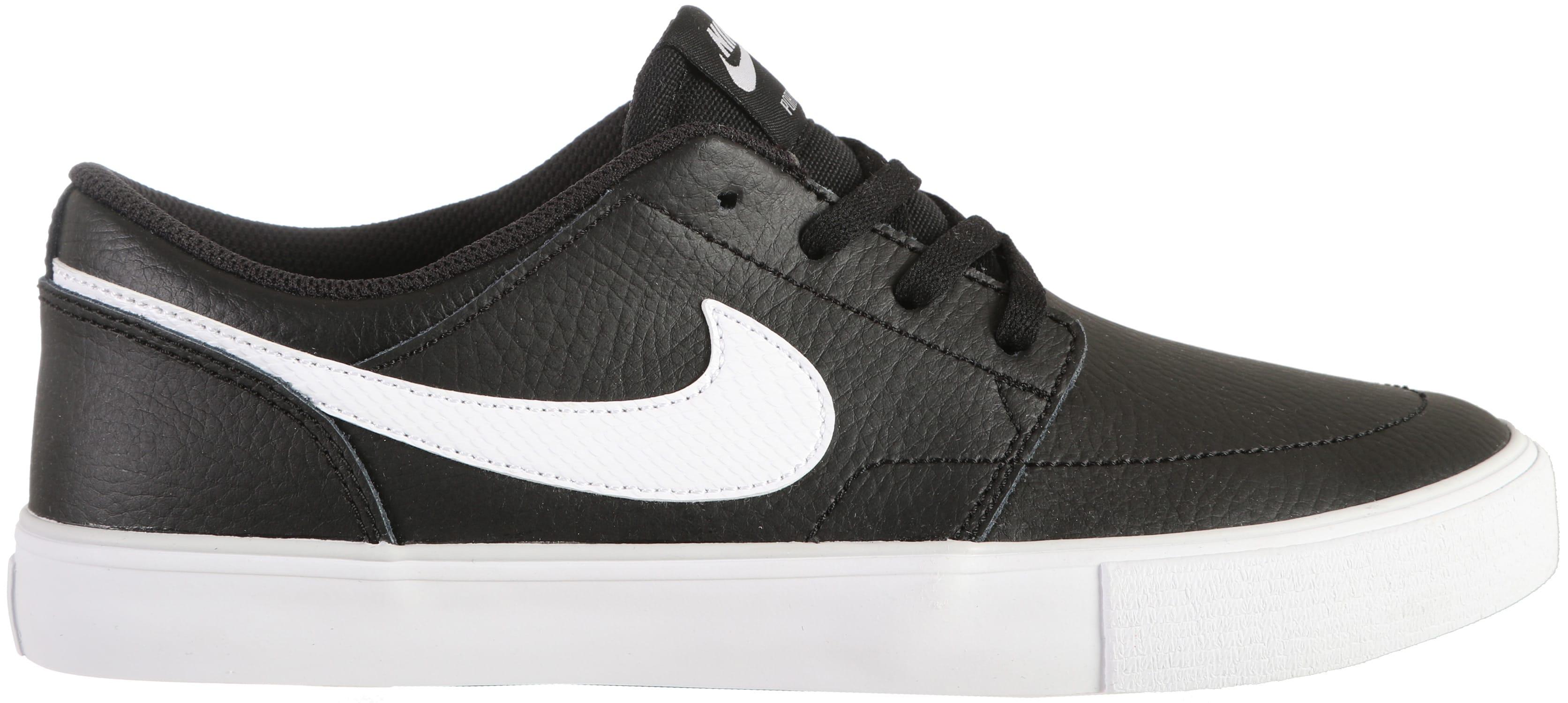 bb585b410434 Nike SB Portmore II Solarsoft Premium Skate Shoes - thumbnail 1