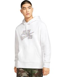 Nike SB Striped Pullover Hoodie