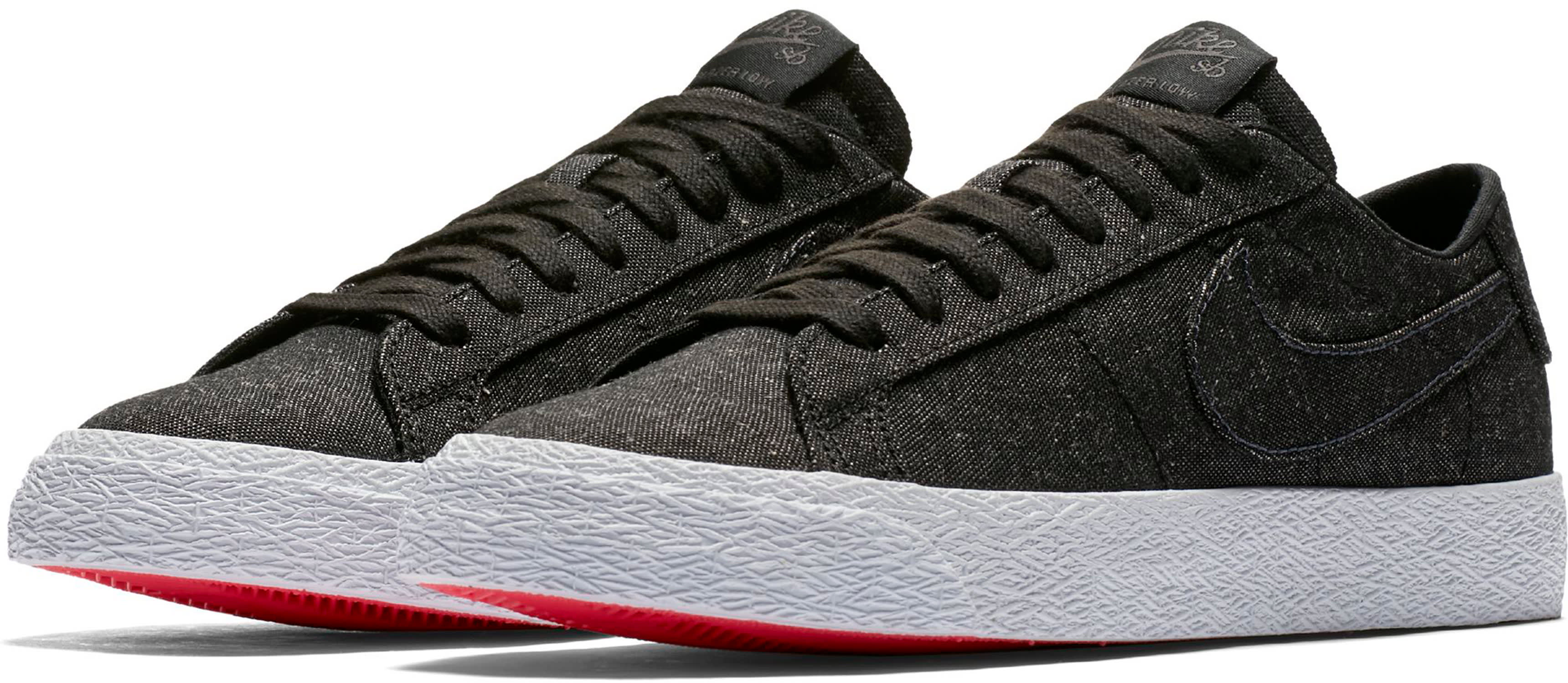 promo code b9ead 8e66f Nike SB Zoom Blazer Low Canvas Deconstructed Skate Shoes - thumbnail 3