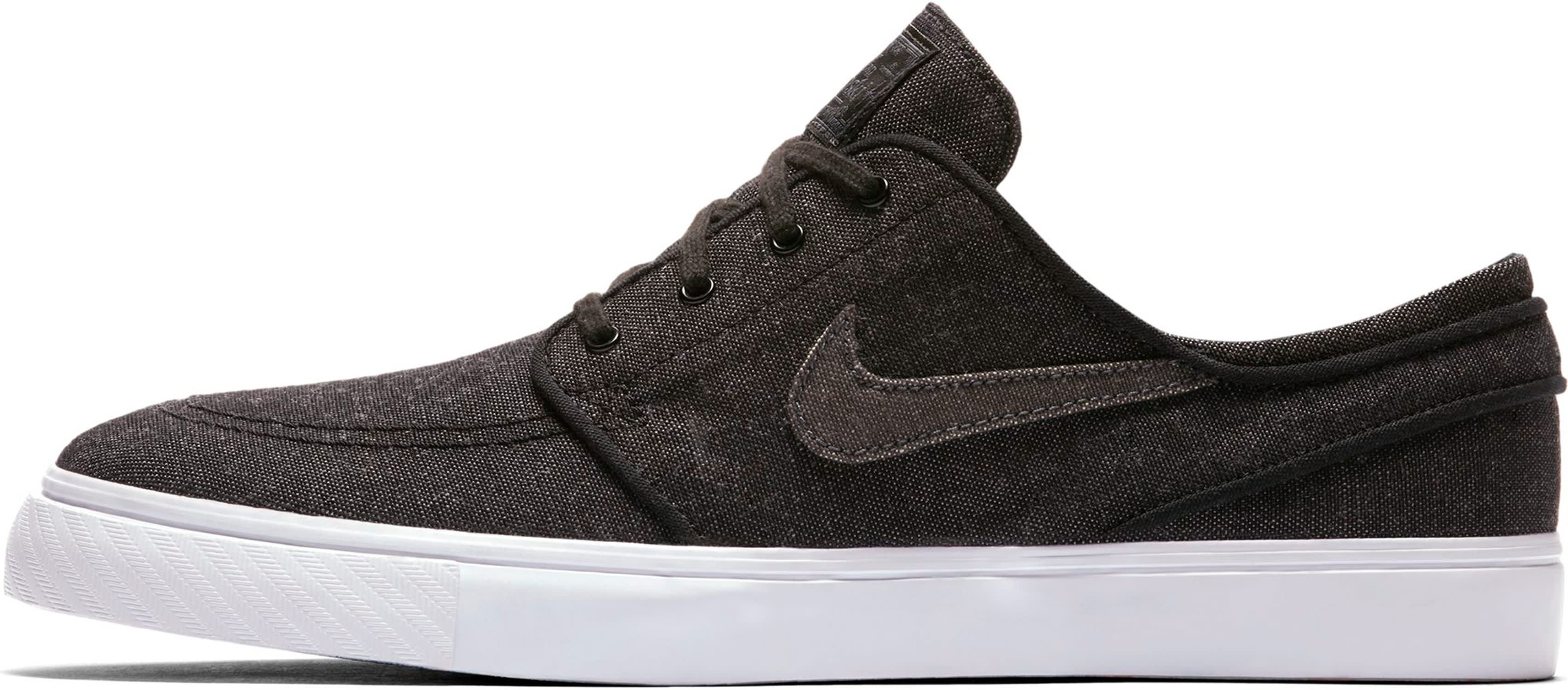 Nike SB Zoom Stefan Janoski Canvas Deconstructed Shoes (black anthracite)