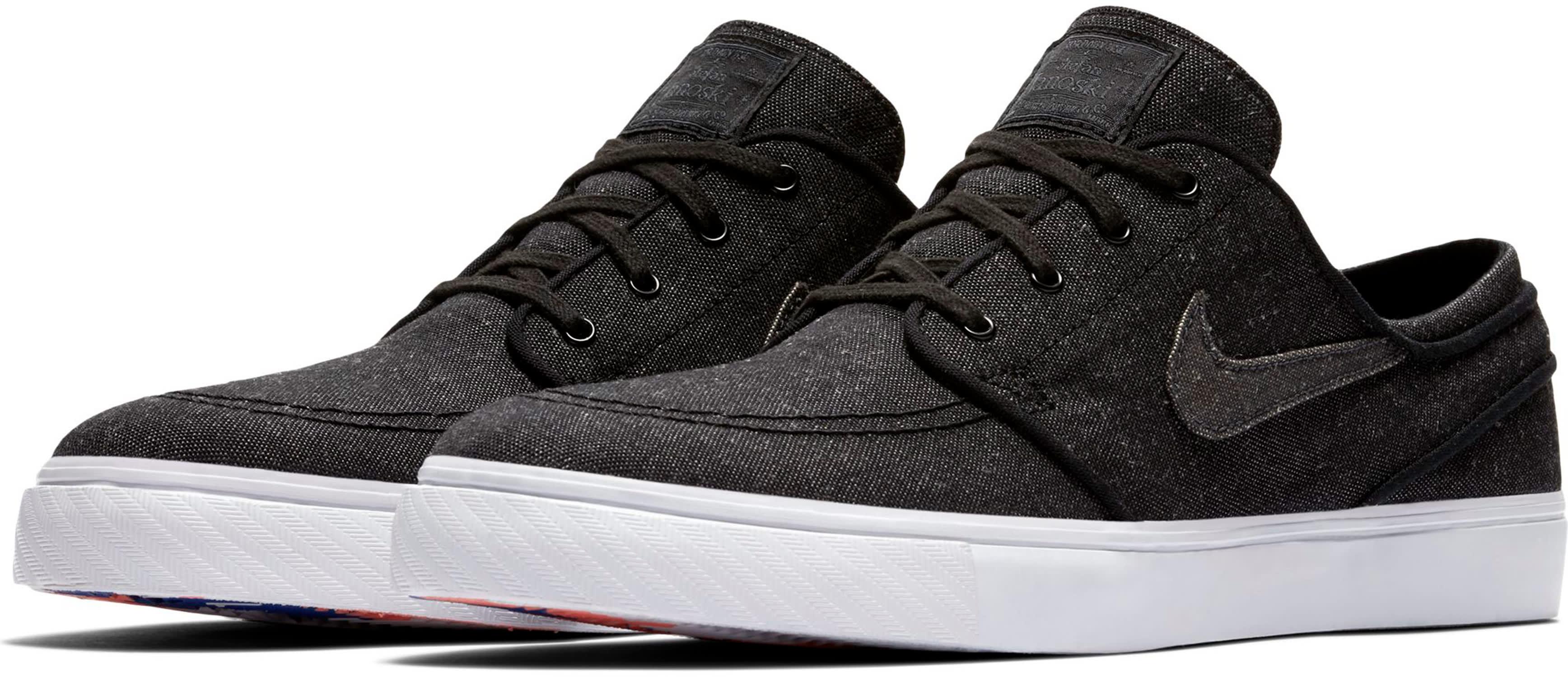 buy online 26ca3 3ef22 Nike SB Zoom Stefan Janoski Canvas Deconstructed Skate Shoes - thumbnail 3