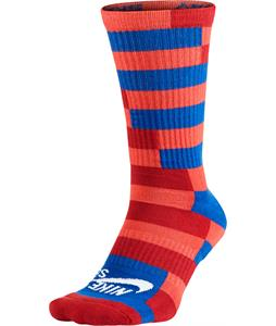 Nike Striped Dri-Fit Skate Crew Socks