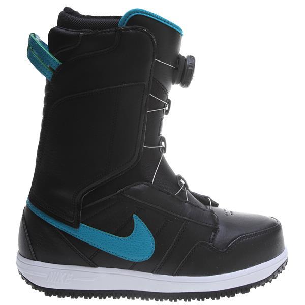 Nike Vapen X Boa Snowboard Boots Black / White / Tropical Teal U.S.A. & Canada