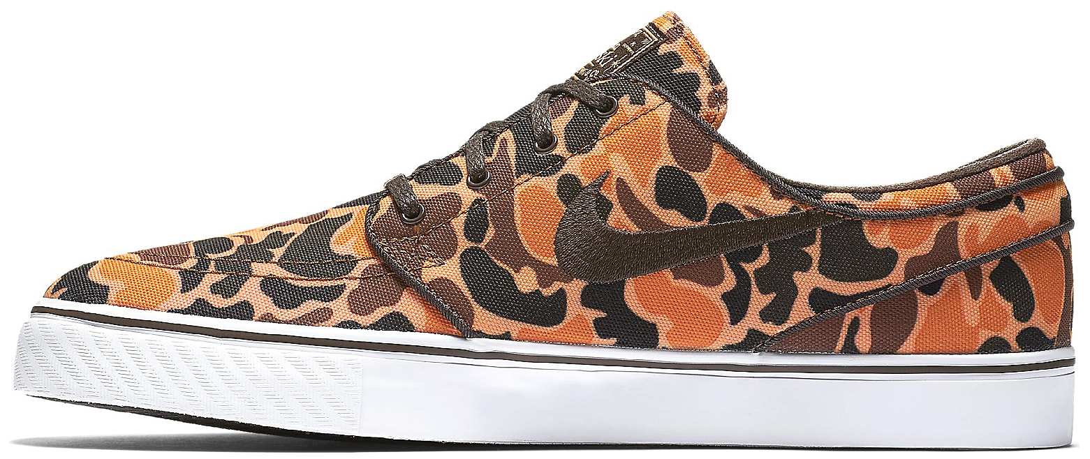 e142685b585f Nike Zoom Stefan Janoski Canvas Premium Skate Shoes - thumbnail 2