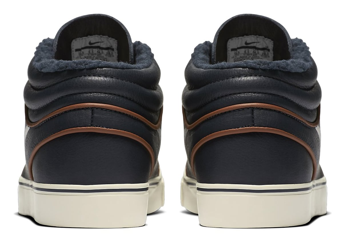 finest selection f8e7c 041a5 Nike Zoom Stefan Janoski Mid Premium Skate Shoes - thumbnail 4