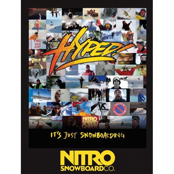 Nitro Hyped! Snowboard Dvd U.S.A. & Canada