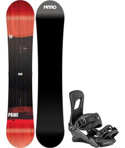 Nitro Prime Screen Snowboard w/ Rambler Bindings