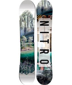 Nitro Team Exposure Wide Snowboard
