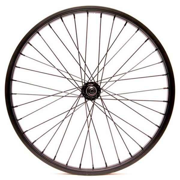 "Eastern Double Shot Front 3 / 8 36H Bmx Wheel Black 3 / 8"" U.S.A. & Canada"