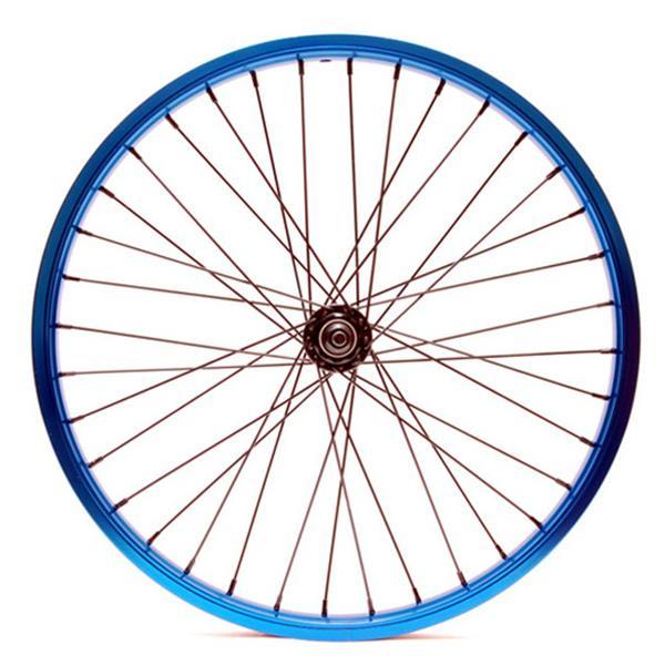 "Eastern Double Shot Front 3 / 8 36H Bmx Wheel Blue 3 / 8"" U.S.A. & Canada"