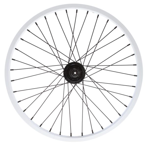 Eastern Double Shot Rear 14Mm 36H 9T Bmx Wheel White 14Mm U.S.A. & Canada