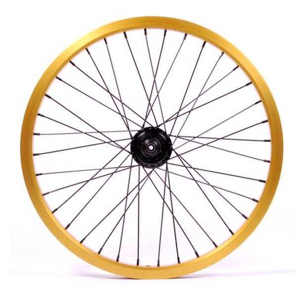 Eastern Double Shot Rear 14Mm 36H 9T Bmx Wheel Gold 14Mm U.S.A. & Canada