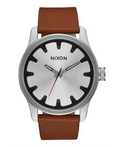 Nixon Driver Leather Watch