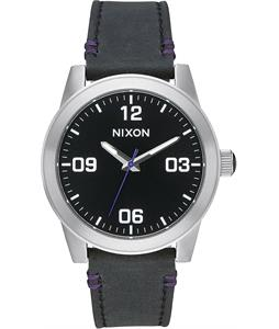 Nixon G.I. Leather Watch
