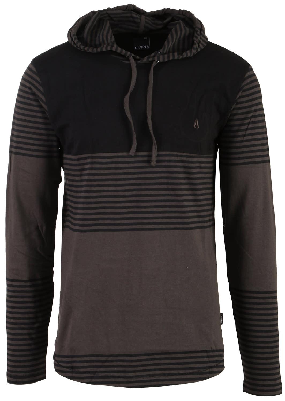 Nixon Heath L/S Knit Hooded Pullover Shirt nx3hlkhpo06an15zz-nixon-shirts-polos