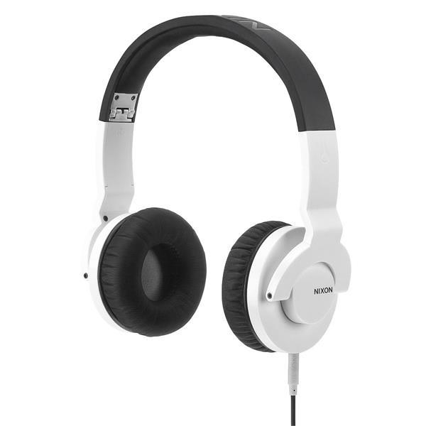 Nixon Stylus Headphones White / Black U.S.A. & Canada