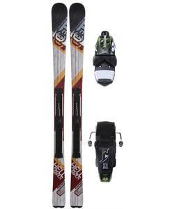 Nordica Avenger 82 Skis Evo w/ ADV P.R. WB90 Bindings