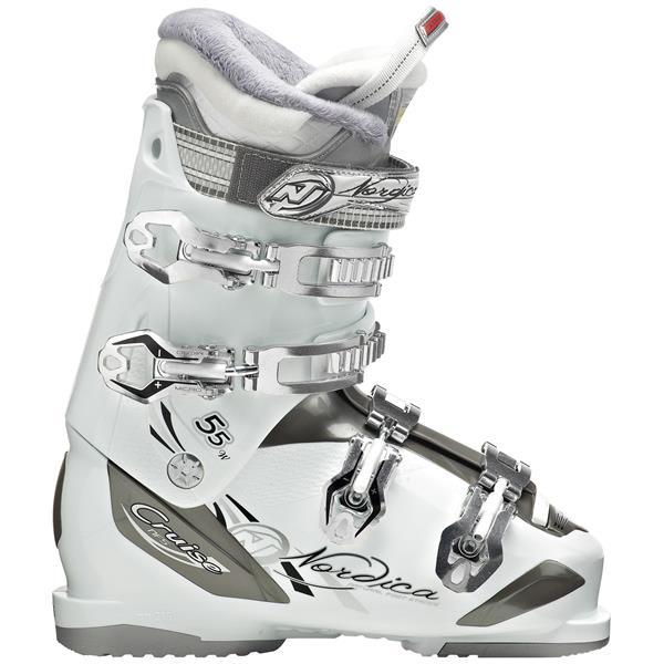 Nordica Cruise 55 Ski Boots White U.S.A. & Canada