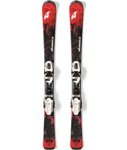 Nordica Navigator Team FDT Kids Skis w/ Jr 4.5 FDT Bindings