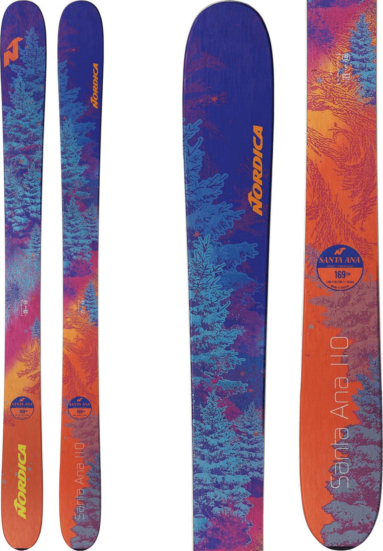 Nordica Santa Ana 110 Skis - Womens 2019