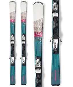 Nordica Elexa Evo Womens Skis w/ N Adv P.R. Evo Bindings