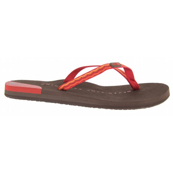 The North Face Ava Sandals Red / Brown U.S.A. & Canada