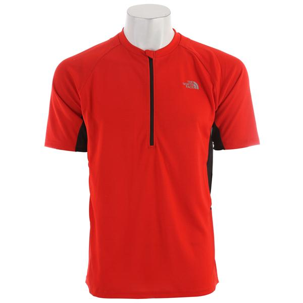 The North Face Captain Ten Speed Jersey Centennial Red U.S.A. & Canada