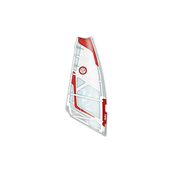 North Sails Duke Windsurf Sail White / Red 6 9M U.S.A. & Canada